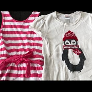 Girls Size 6 Gymboree 2 Pack Dress Bundle